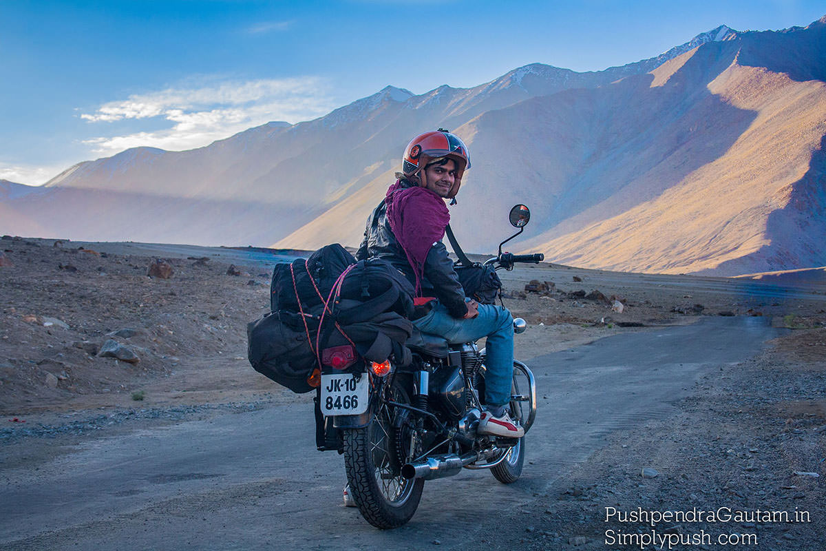 India Motorcycle Tour Route
